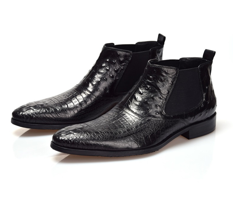 Popular Brown Leather Ankle Boots Men-Buy Cheap Brown Leather ...