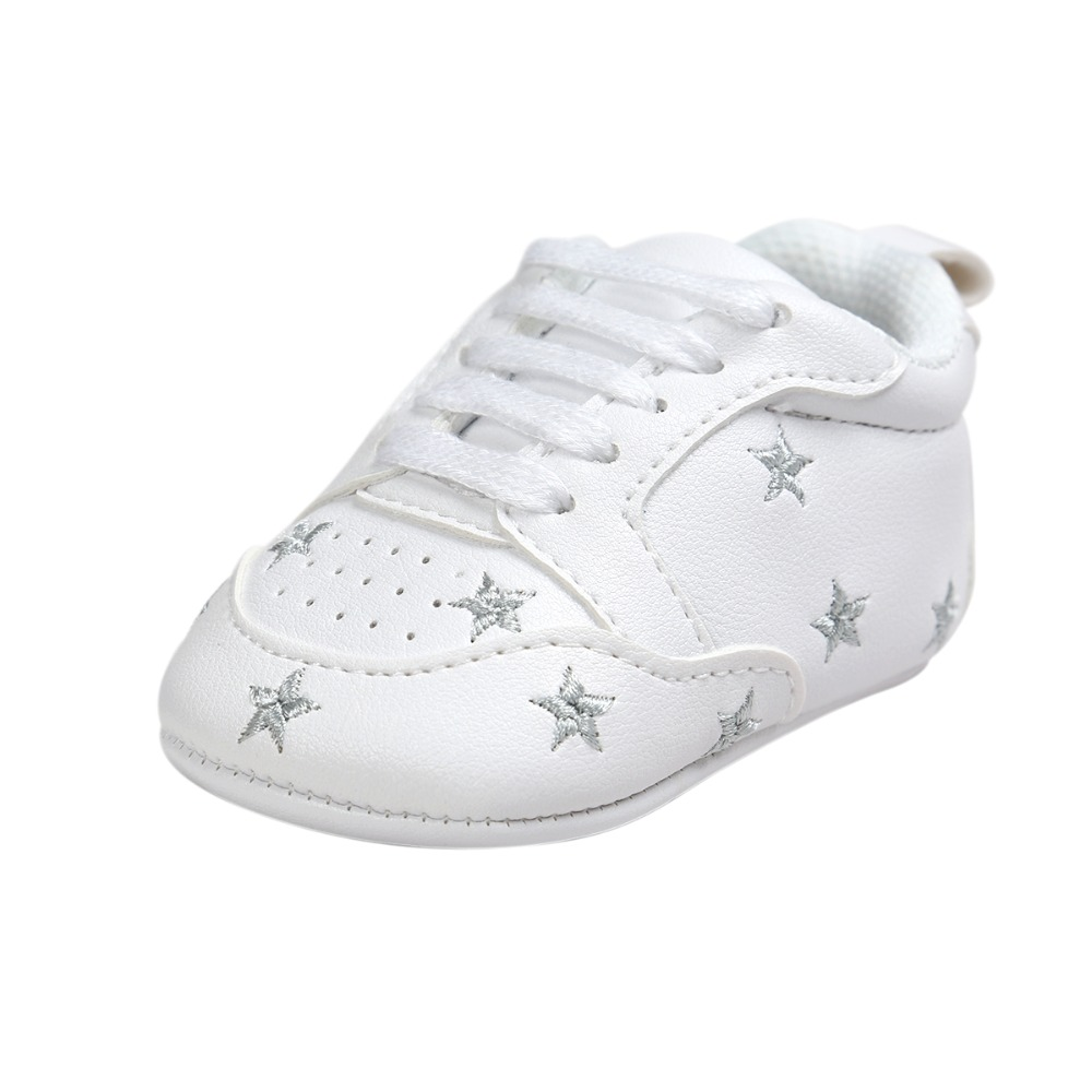 38d78803b518c Delebao Love Heart And Star formation ultiple Star Baby Girl Shoes ...