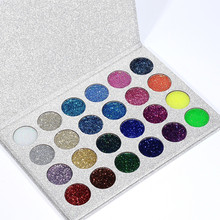 Global fashion 24-color diamond eyeshadow flash eye shadow stage COS glitter powder makeup dance