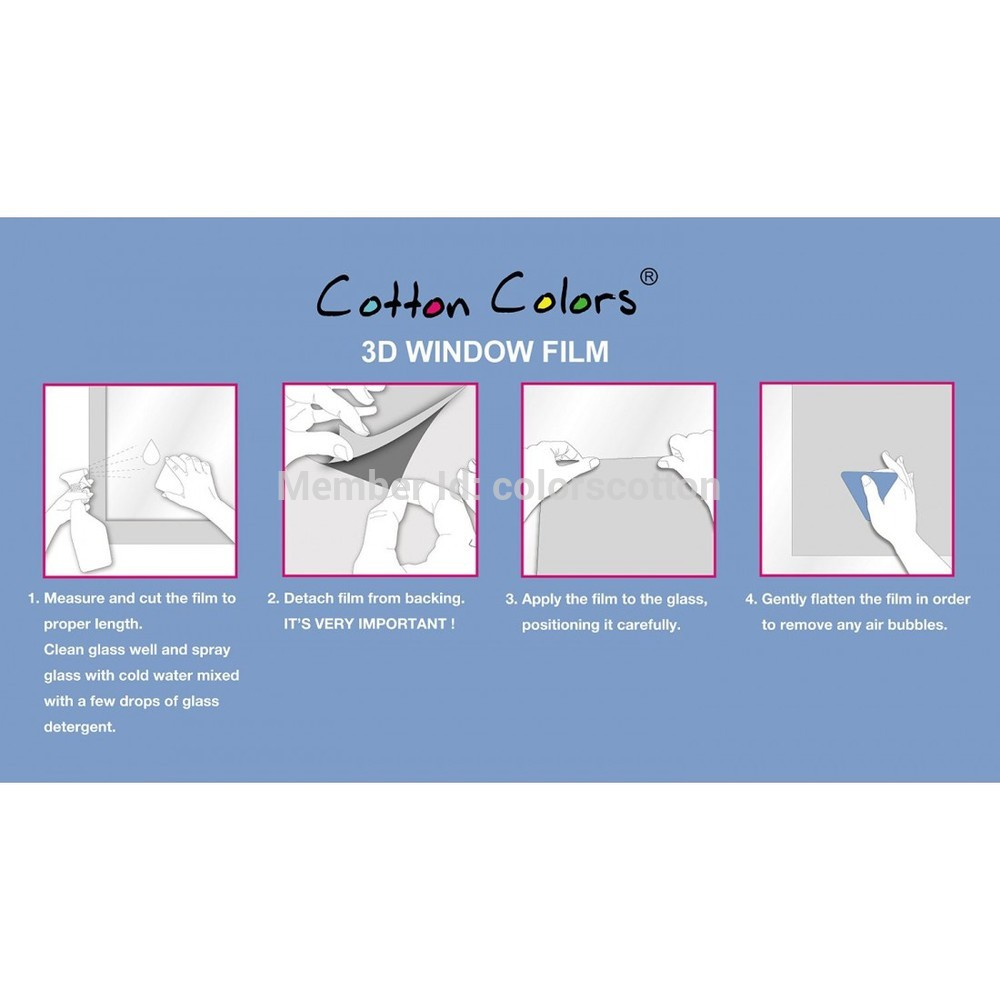 Cotton Colors Window Films 4