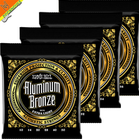 Ernie Ball Aluminum Bronze Acoustic Guitar Strings Professional Level High End Guitarra String Made In USA