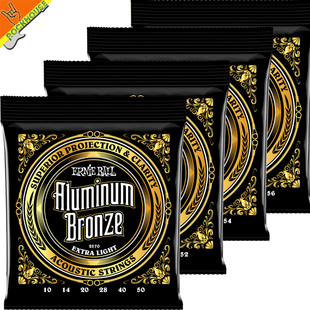 Ernie Ball Aluminum Bronze Acoustic Guitar Strings Professional level High-end Guitarra String Made in USA Free Shipping package sales 012 053 acoustic guitar string guitarra strings and tcm string cleaner strings conditioner package free shipping