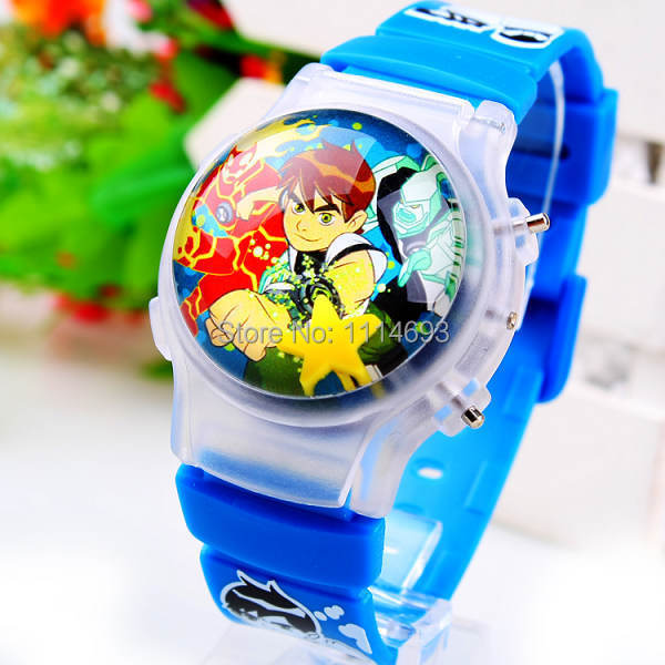 96d4fd8a5479 Children cartoon Jelly Watch WITH LIGHT Cute Silicone watch kids LED  digital watches 2014 new arrival dropship free shipping lot