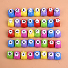 1 Pc Kids Mini Printing Paper Hand Shaper Scrapbook Tags Cards Craft DIY Punch Cutter Tools Children Drawing Toys Accessories(China)