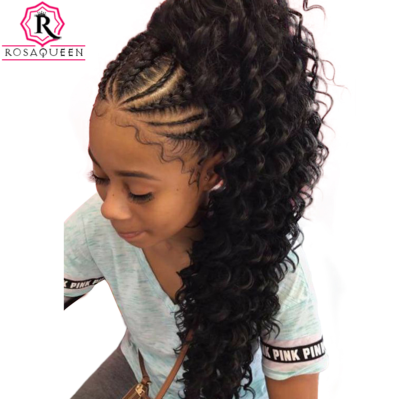 360 Lace Frontal Wig With Baby Hair 180 Density Deep Wave
