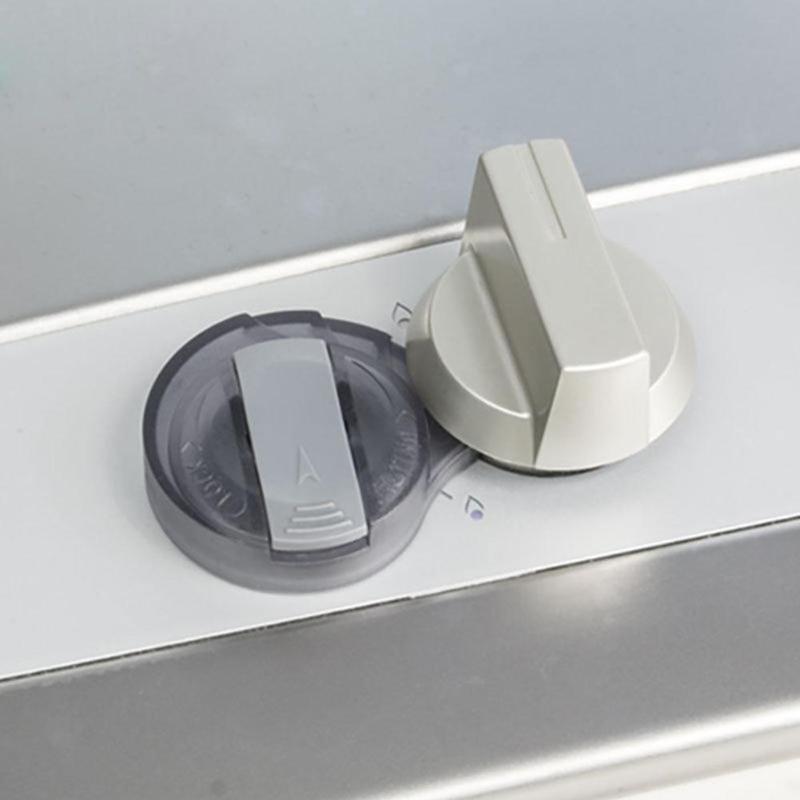 2 шт. кухонная газовая плита чехол для ручек защиты замки безопасности ребенка коробка с замком