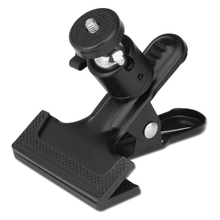 Flash studio Light Stand Clip Clamp Holder Mount Tripods Mount Adapter Gopro Screw For Gopro