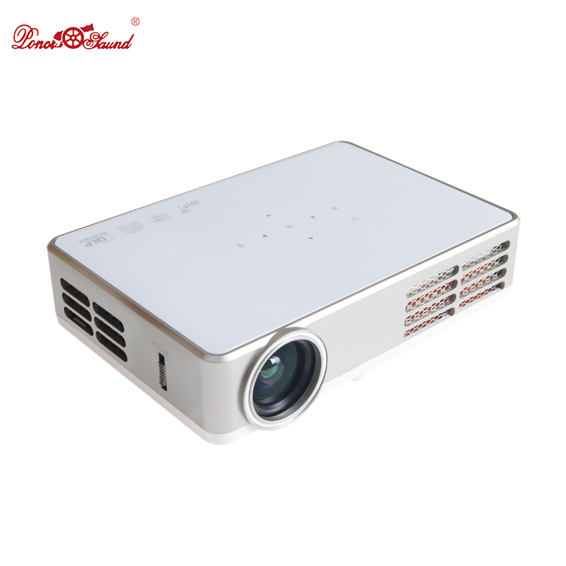 Poner Saund Full Hd New Mini Projector Proyector Led Lcd: Poner Saund Mini Projector Tv Home Cinema Usb Android