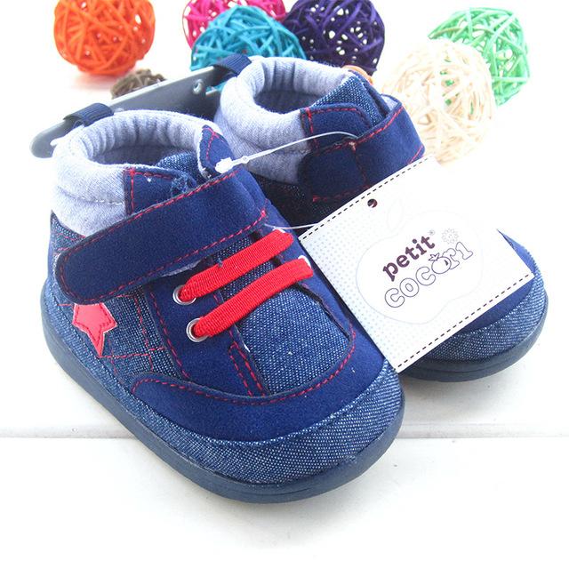 Zapatos de Bebé Primeros Caminante antideslizante Zapatos para niños Pequeños para Niños de Invierno Zapatos Calientes para Los Bebés