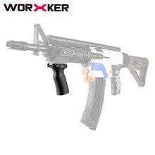 Worker Adjustable handle Toy Accessories for nerf N-strike Elite Series N-strike Series Modulus Series with Guide Rail