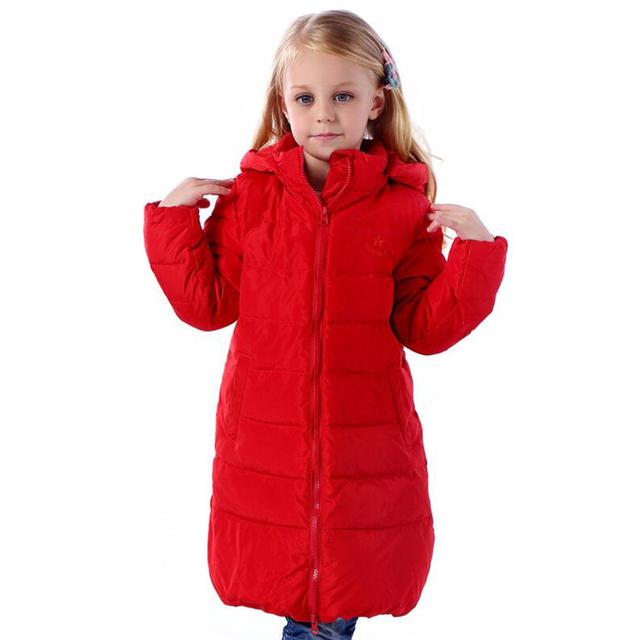 Casacos crianças Meninas Roupas de Inverno 3-10 Anos Quentes Água e Neve À Prova de Vento Ao Ar Livre roupas esportivas para as meninas casacos