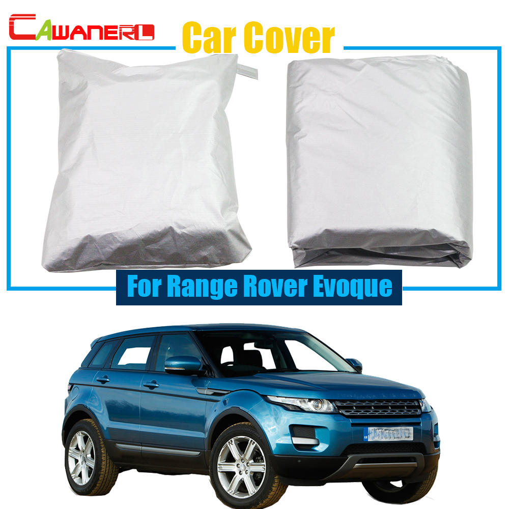 Cawanerl Car Styling Car Cover Outdoor Anti UV Rain Sun Snow Resistant Protector Cover For Land