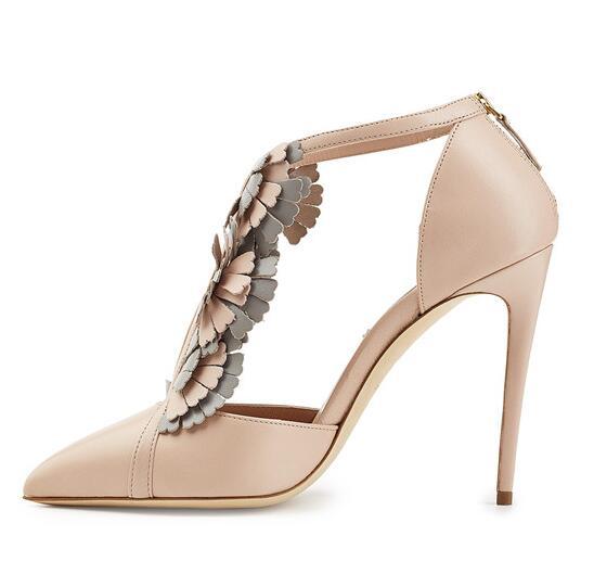 T Nude Sandalo Donna Tacco Vogue Punta Elegante Scarpe Alto A xAPn8zaqB