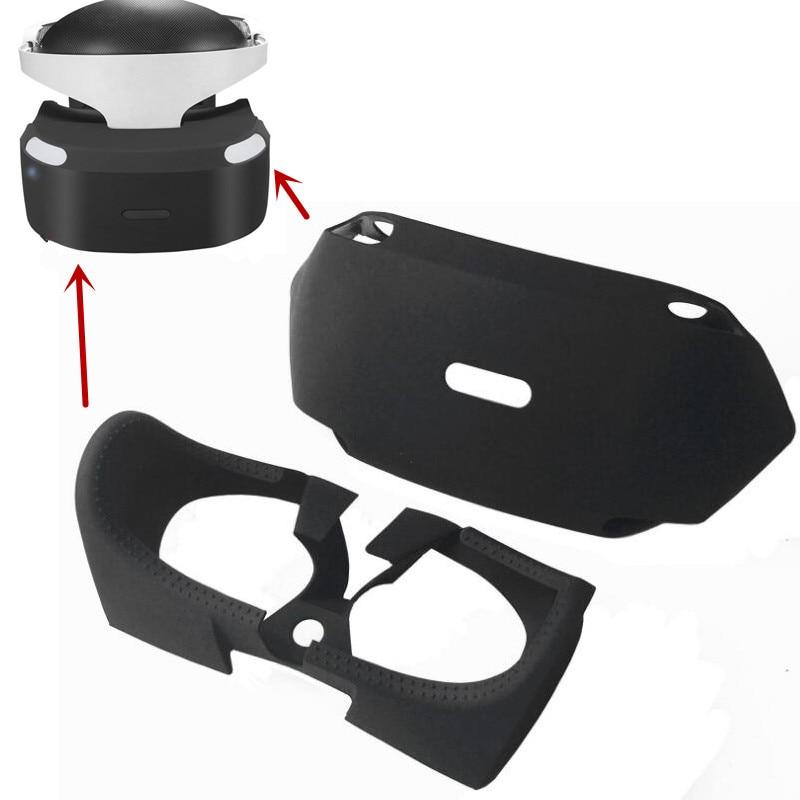 Защитный чехол для PS4 VR PSVR PS VR 3D, защитный чехол, силиконовая пленка, улучшенные глаза, внутренняя крышка, аксессуары 2 в 1