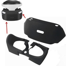 עבור PS4 VR PSVR PS VR 3D צפייה זכוכית מגן מקרה משמרות סיליקון לעטוף משופר עיני פנימי מחוץ כיסוי אבזרים 2 ב 1