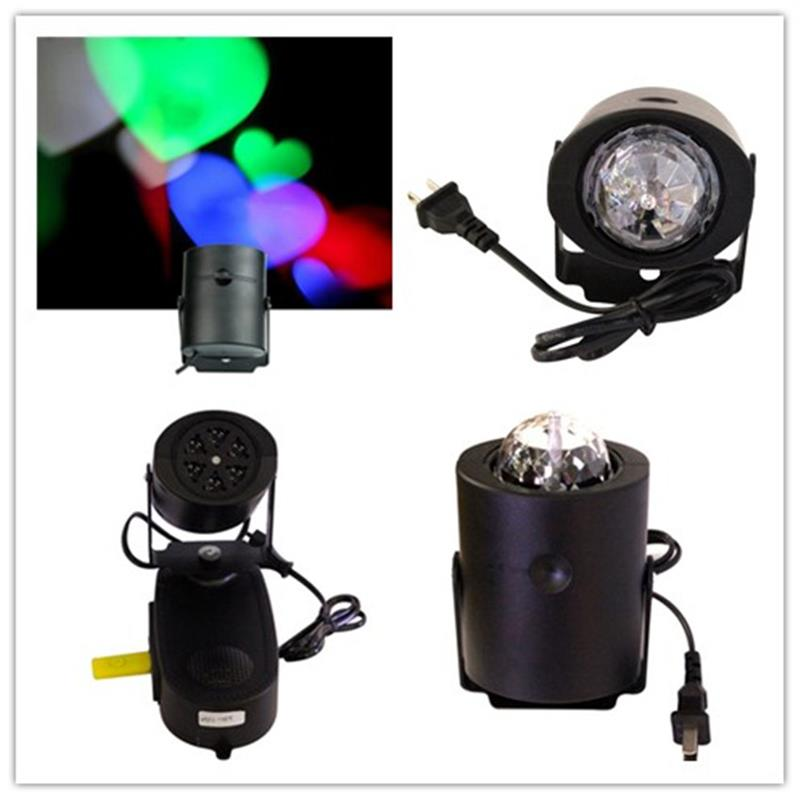 Christmas Festival Decoration Led Stage Light RGB DJ Lights Dance Party Effect Lamp Home Wedding Club Projector Factory Price