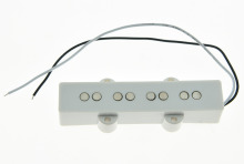 White J Bass NECK Pickup Bass Pickups for 4 String Jazz Bass Guitar