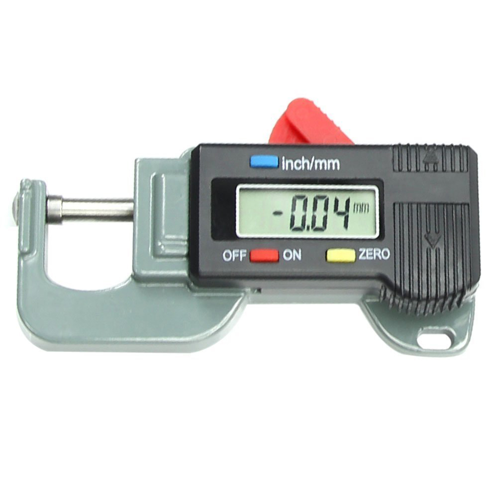 LHLL-Portable Precise Digital Thickness Gauge Meter Metal Tester Micrometer 0 to 12.7mm