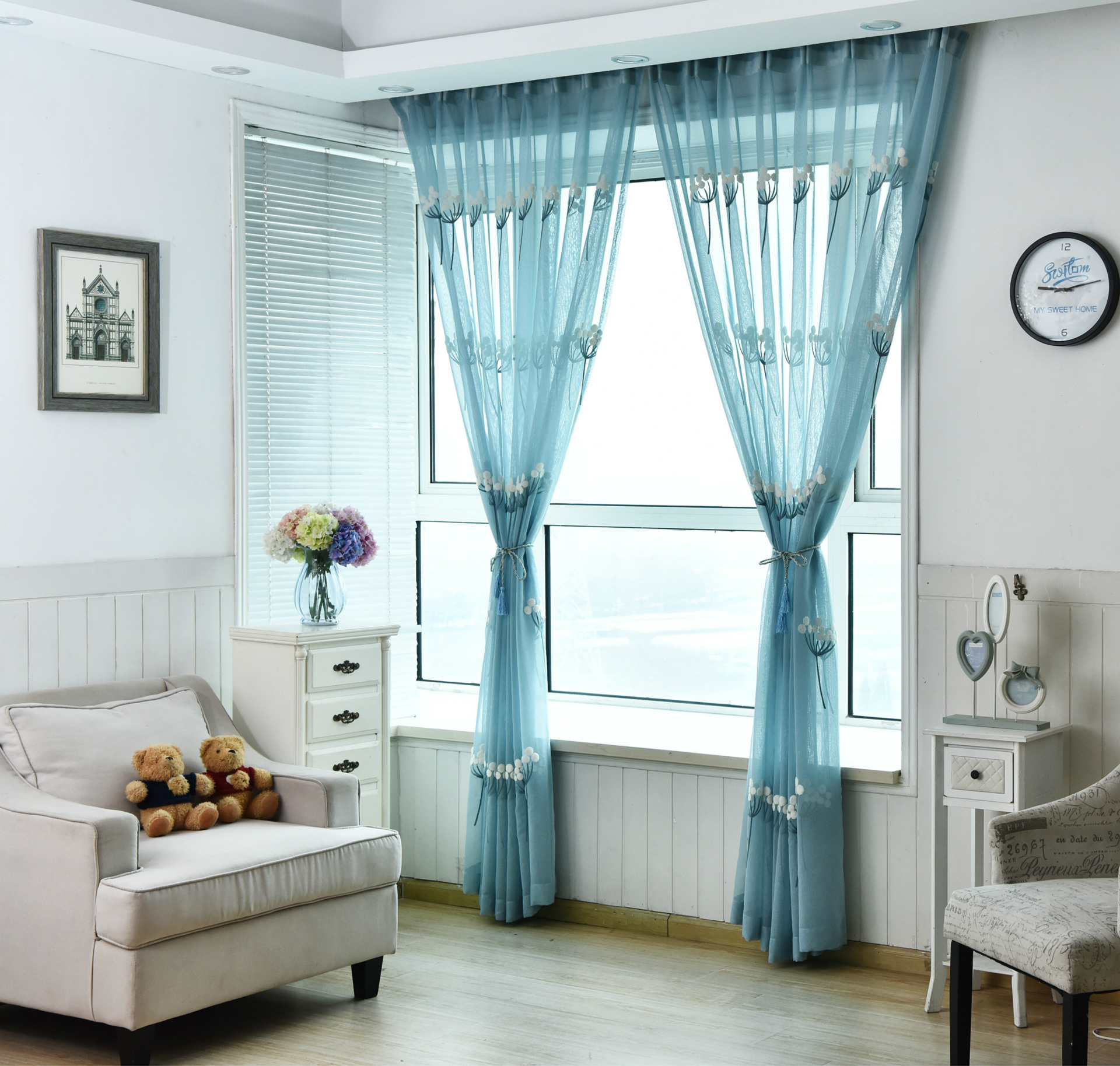 Curtains For Dining Room Windows: Curtains For Living Dining Room Bedroom High Grade