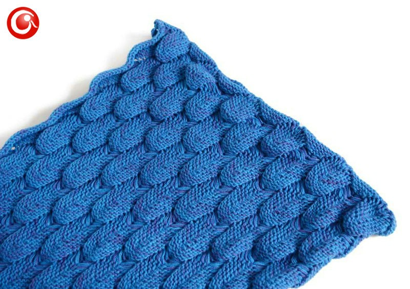 Baby Knitted Crochet Mermaid Blanket For Mother&Baby Infant Newborn Handmade Bed Wrap Throw Sleeping Bag Soft (17)
