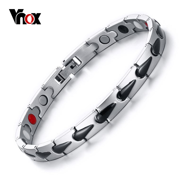 Vnox Health Magnetic Bracelets for Men Casual Hologram Male Bracelets & Bangles Wonderful Gift Jewelry original barbie dolls skipper dolphin magic adventure doll with clothin babies boneca brinquedos toys for children birthday gift