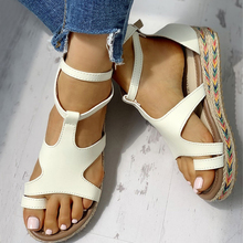 INS HOT Straw Large Size 43 Leisure Vacation Sandals Flat Pl