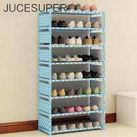 Multifunction Household Storage 8 Layers Shoe Rack DIY Free Combination Shoe Organizer Book Shelf Shoe Storage Box Organizer