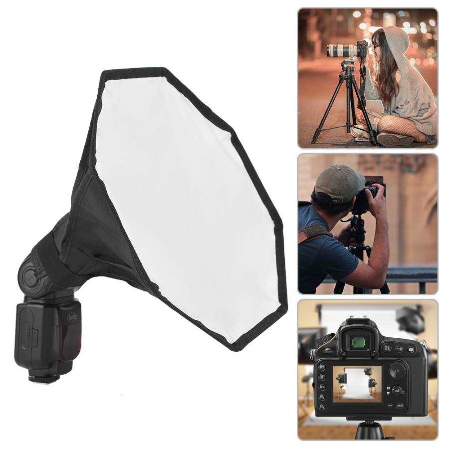 Softbox-Diffuser Speedlight Mini Portable New 30cm for Universal