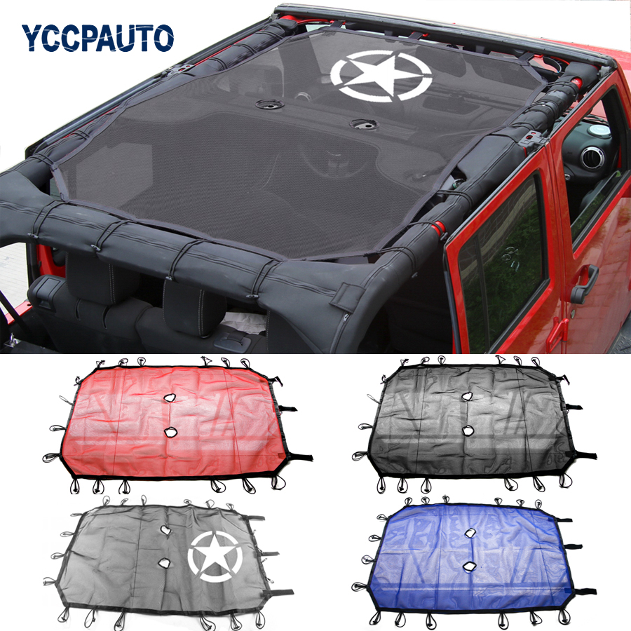 Car Styling Sunshade Roof For Jeep Wrangler Unlimited Jk