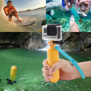Image 2 - ORBMART Bobber צף כף יד חדרגל הר יד אחיזה Selfie מקל עבור Gopro HERO 4 3 + 3 2 1 SJ4000 xiaomi יי פעולה מצלמות