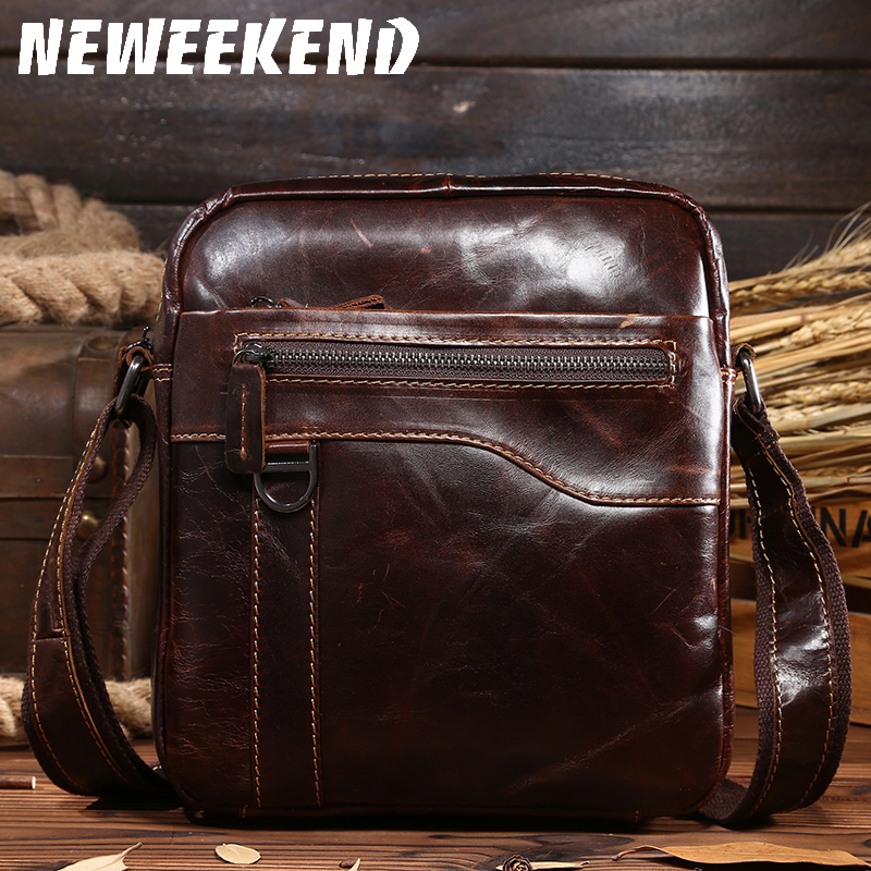 0067,Guaranteed genuine leather Men's Briefcase men messenger bags Business travel bag man leather vintage men shoulder bag цены