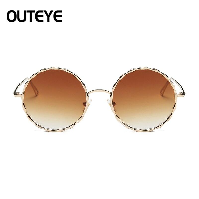 Shades 3 4 Oversized Lunette 1 6 Eyewear Signore Del Donne Di Libero 2 5 Retro Marca Occhiali 7 Fashion 2018 Rotondo Vintage Sole Da Progettista Le Per UgqRBp