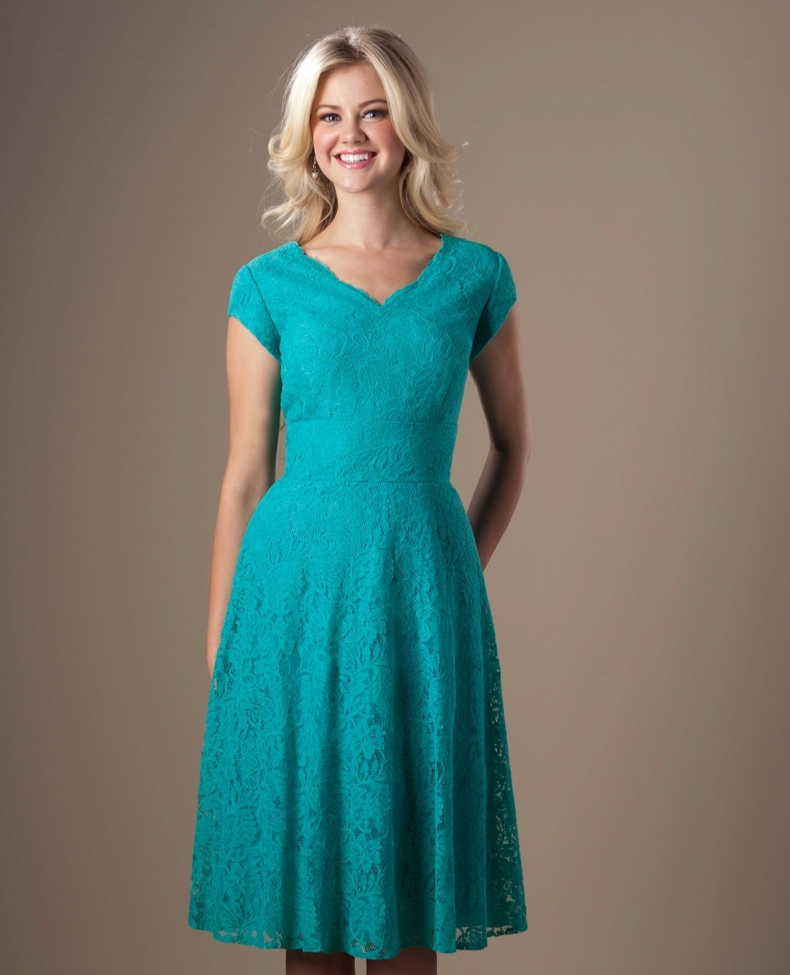Compare prices on bridesmaid dresses teal short online shopping vintage teal lace short modest bridesmaid dresses with cap sleeves v neck knee length a ombrellifo Image collections