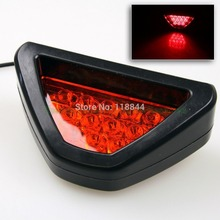 HIGH VISIBILITY 3RD BRAKE LAMP F1 STYLE UNDER DIFFUSER/BUMPER 12 RED LED SPORTY For VW Ford Cruze Nissan Hyundai Mazda