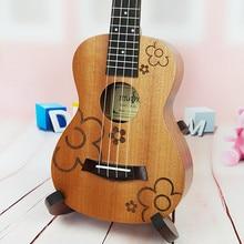 23″ Ukulele Concert Rosewood Fretboard Uke Sapele Electric Ukelele Built in Pickup EQ small guitar ukulele 23 Musical Instrument
