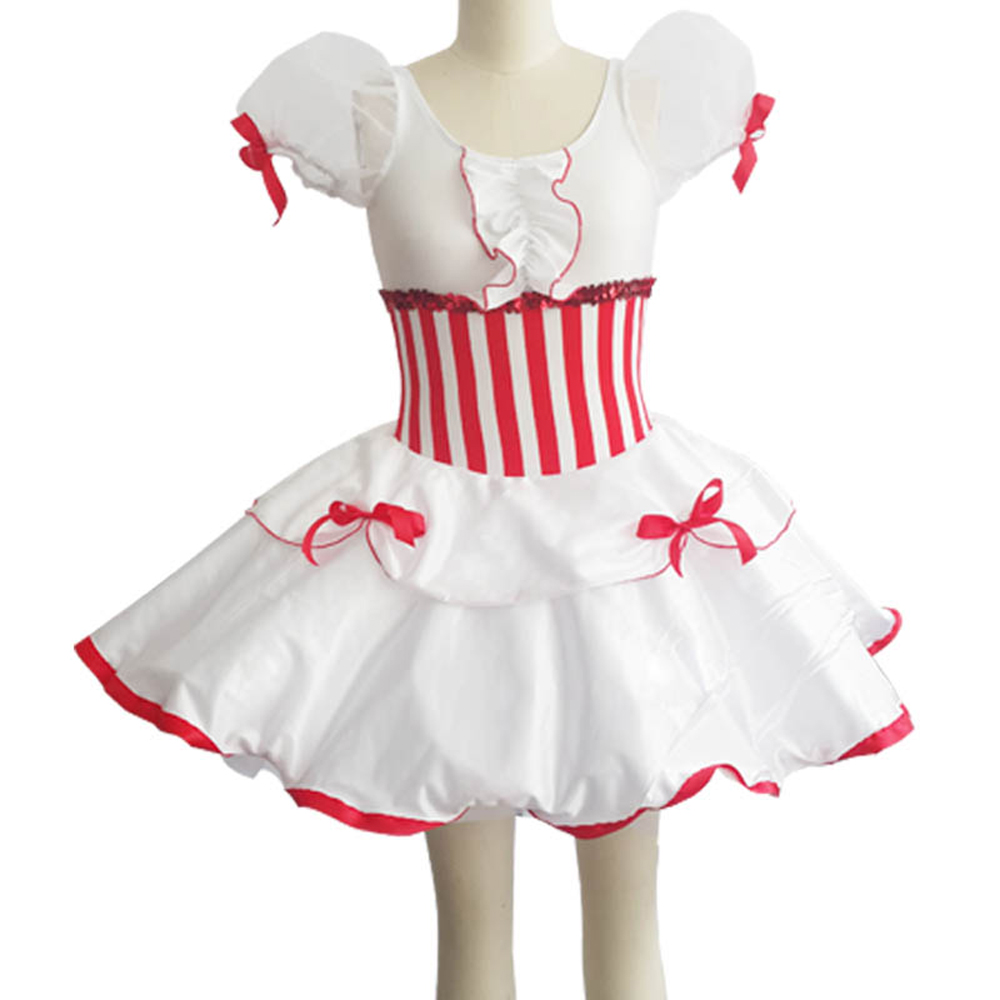 Short-sleeve Ballet Costumes Dress For Children Dancewear Lyrical Adulto Professional Tutu Classical Balett Girl Dancing Kids