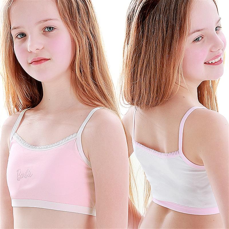 Hot sale Child Sports Bra Kids Thin Cup Young Girl Bra Cotton Intimates Girls Lingerie Underwear Teenage Bra For Children Бюстгальтер