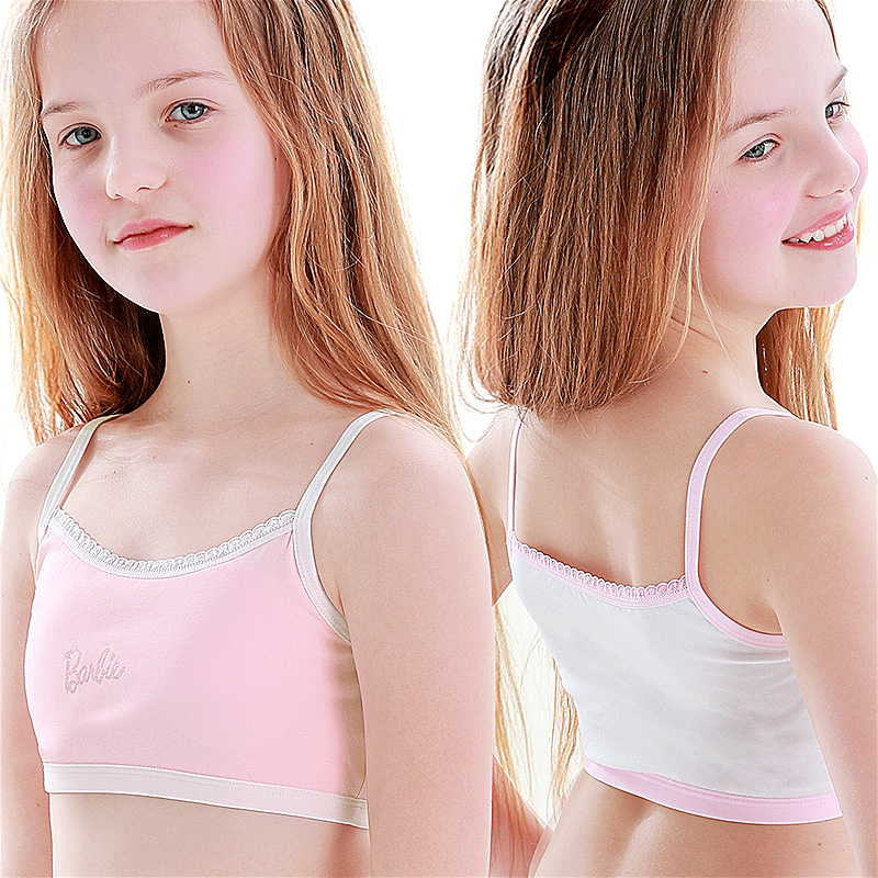 Young girl in bras