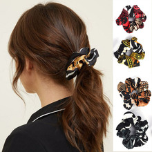 Soft Velvet satin Hair Scrunchie Girls Elastic Rubber Bands Accessories For Women Tie Ring Rope Ponytail Holder New