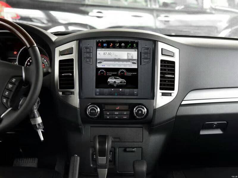 Nouveau Tesla Style 2 Din Android 7.1 voiture Radio GPS Navigation lecteur DVD pour MITSUBISHI Pajero V97 V93 Shogun Montero 2008-2016 3G
