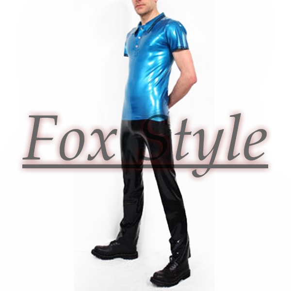 Free shipping latex t shirt with latex font b jeans b font