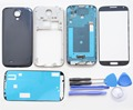 White/Blue/Black Original Replacement Parts Full Housing Case Cover For Samsung Galaxy S4 i9505 + Glass Screen + Repair Tools