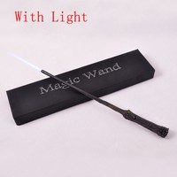 Hot Sale Harry Potter Cosplay Hogwarts Hermione LED Light UP Mediumistic Magic Wand Slughorn