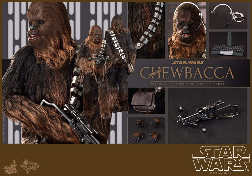 1/6 scale Collectible film figure doll Star Wars Episode IV A New Hope Chewbacca 12 action figure doll model plastic toys аксессуары для акустики episode es 500 iwlcr 6