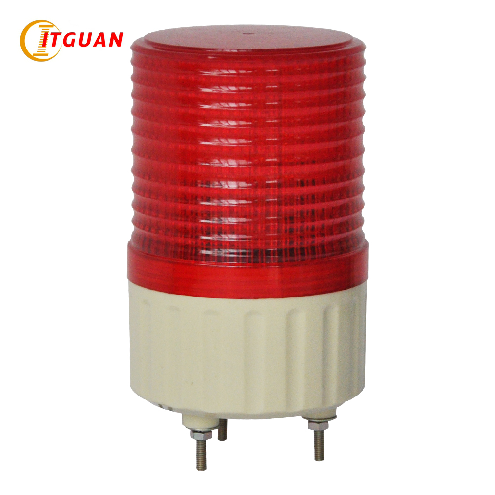 Lte-5081 Signal Led Strobe 3w Warning Light With Bolt Base Dc12v/24v/ac220v Emergency Beacon Alarm Light Lamp Demand Exceeding Supply Alarm Lamp Security Alarm