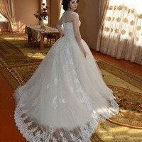 Lover Kiss Vestido De Noiva принцессы одежда с длинным рукавом турецкие свадебные платья кружево с аппликацией и бисером Свадебные платья Vestido Casamento