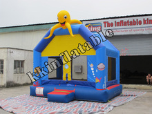 2013 New Design Inflatable House Bouncer With Slide For Kids, Inflatable Combo Playground
