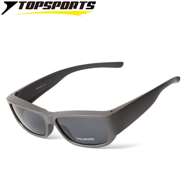 ee7be837ec49 Fit Over Myopia frame polarized women sunglasses Driving Fishing Men Glasses  Hiking Eyewear nearsighted UV400 protection TS009