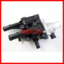 Engine Coolant Thermostat Housing with sensor 55575048 96984103 For Chevrolet Cruze Trax Sonic Tracker 1.8L 2011-2015 цена и фото