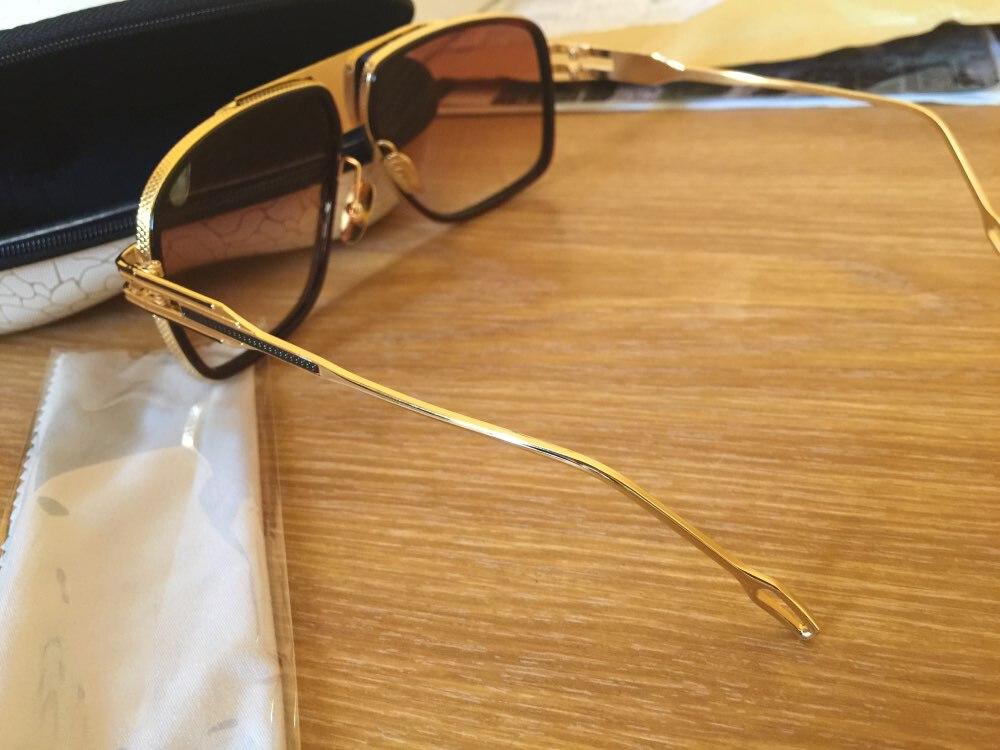 78199140ea9 2018 Grandmaster Five Sunglasses Women Men 18K Gold Sunglass Brand Designer Mach  One Vintage Oversized Sun Glasses oculos de sol-in Sunglasses from Apparel  ...